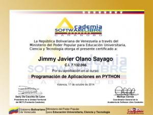 lenguaje Python.