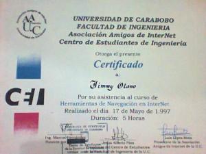 Asociación de amigos de internet UC+INGENIERÍA 1997