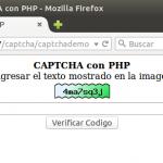 CAPTCHA con PHP.
