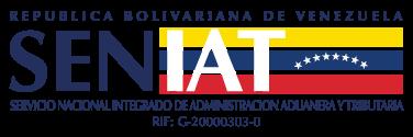 SENIAT logotipo.