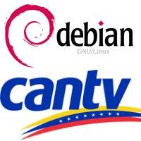 CANTV Debian logos