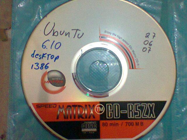 Ubuntu 6 32 bits 27 junio 2007