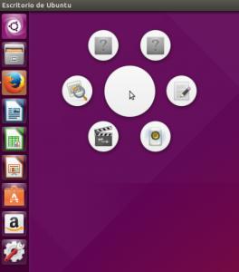 GNOME-Pie CTRL+ALT+A aplicaciones