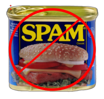 No Spam can.