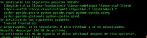 FreeCAD ppa archivos necesarios y por descargar