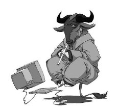 GNU software libre.