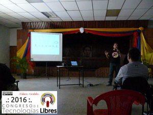 """""""Software libre, para una sociedad libre"""" por Oscar Zambrano."""