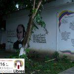 Jardín del auditorio del INCES, fresco y con frimes valores patrios despide las ponencias del día viernes 10 de junio de 2016.