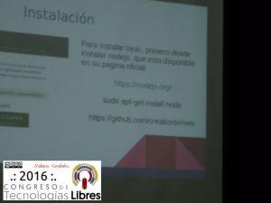 """""""Aplicaciones Moviles: Primeros pasos con Ionic"""" por José Espinoza."""