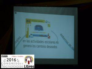 """""""EL Software Libre como herramienta en la sistematización de la práctica pedagógica"""" por Abiud Josue Matos Lugo."""