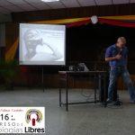 """Presentación de la ponencia """"Ingeniería Social y Software libre""""."""