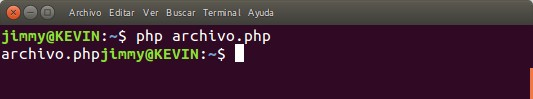 php archivo.php