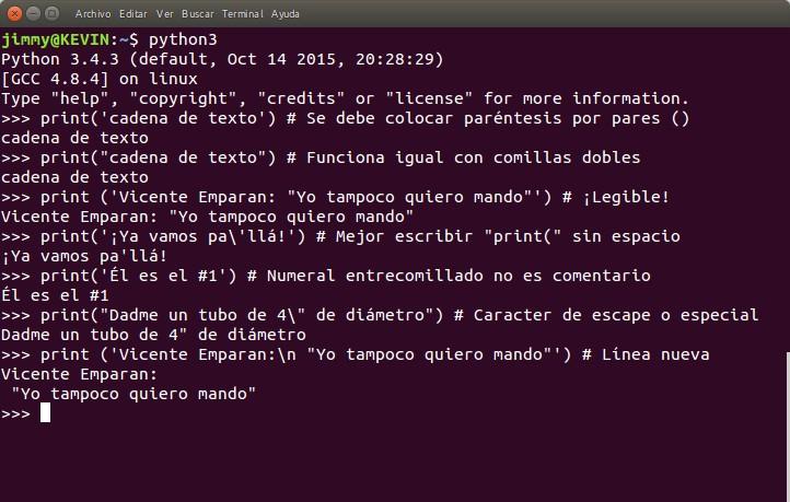 python función print() linea nueva
