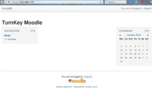 Moodle Turnkey VirtualBox