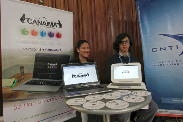 Canaima software libre.
