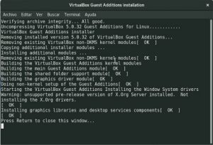 Compiling VirtualBox Guest Additions kernel modules