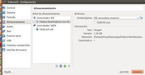 Crear máquina virtual Fedora 25 VirtualBox paso 05