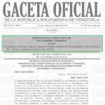 Gaceta Oficial Extraordinario N° 6.287 sumario.
