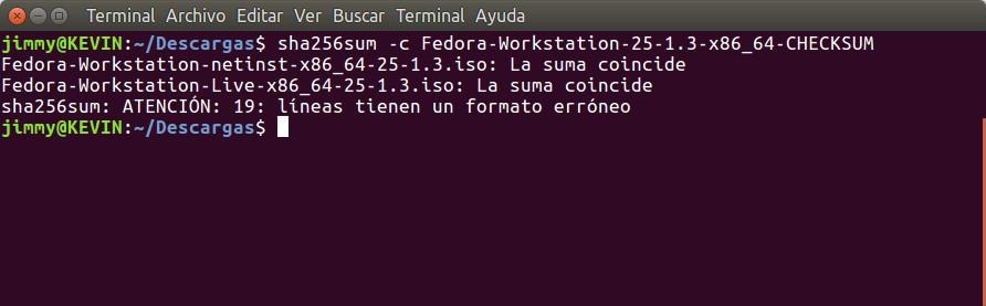 Fedora 25 Workstation 64 bits - KS7000+WP