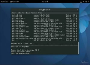 sudo dnf install python3-numpy python3-scipy python3-scikit-learn python3-pandas python3-matplotlib python3-statsmodels
