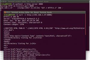 Orden «GET HTTP 1.1»