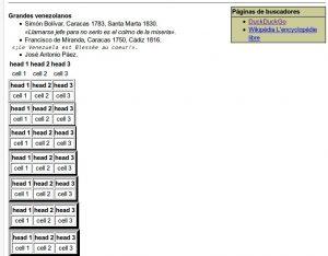 PMWiki formatos de texto listas y tablas