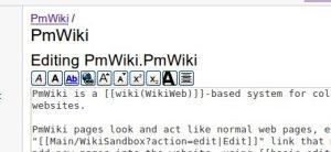 PmWiki botones gráficos