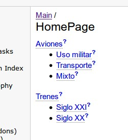 PmWiki creando grupos de páginas