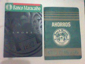 Banco de Maracaibo libretas de ahorro 1994
