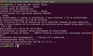 apt-get install fping