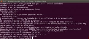 apt-get install module-assistant