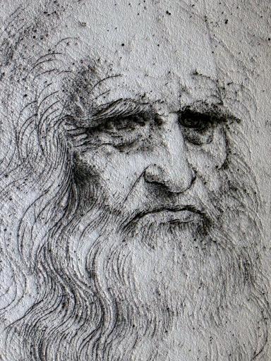 Leonardo Da Vinci, cortesía de Wikipedia