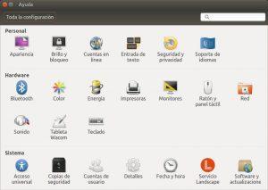Ubuntu 16 configuración del sistema