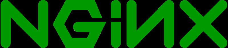 Maquinaria X: Nginx logotipo (tomado de Wikipedia https://commons.wikimedia.org/wiki/File:Nginx_logo.svg)