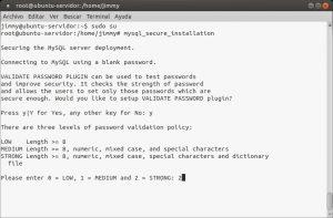 mysql_secure_installation