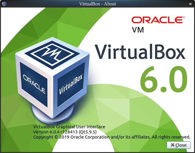 VirtualBox 6.0.4