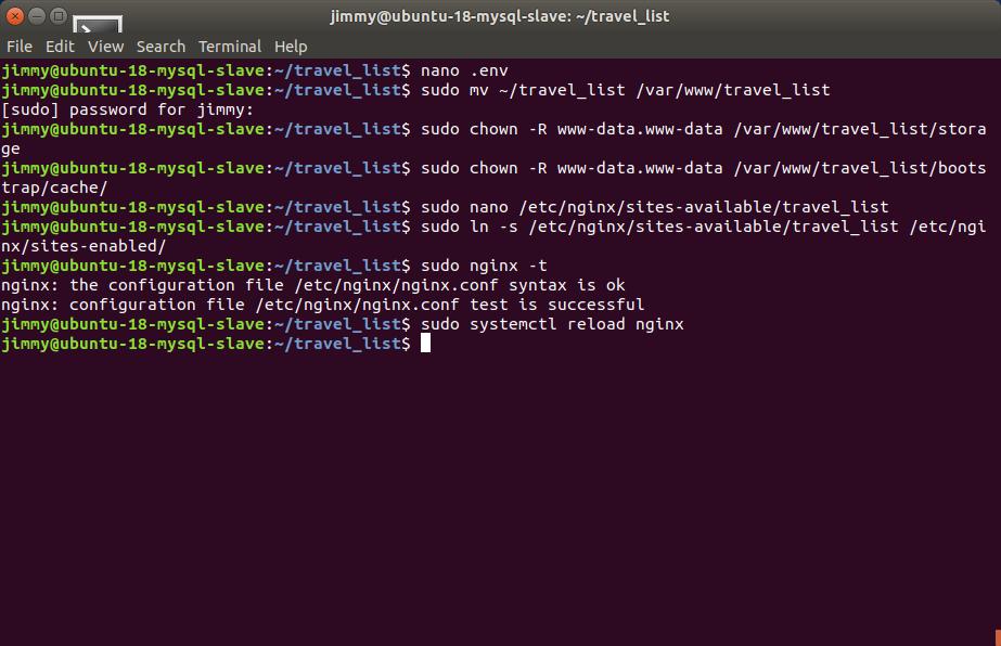 Configurando Nginx