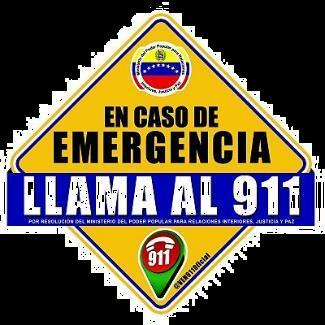 En caso de emergencia llama al 911