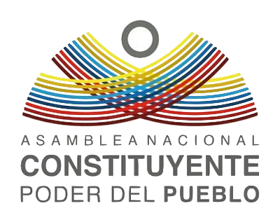 Asamblea Nacional Constituyente 2017, logotipo ( https://commons.wikimedia.org/wiki/File:Logo_of_the_2017_Constituent_Assembly_of_Venezuela.png )