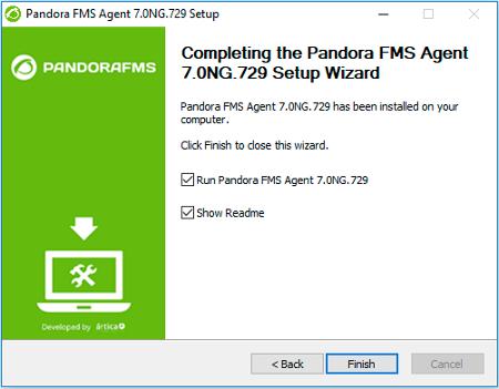 Pandora FMS: instalación de un agente en Microsoft Windows®