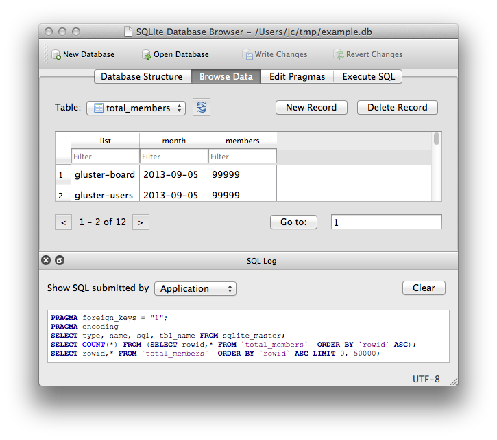 SQLite Database Browser ( sqlitebrowser.org )