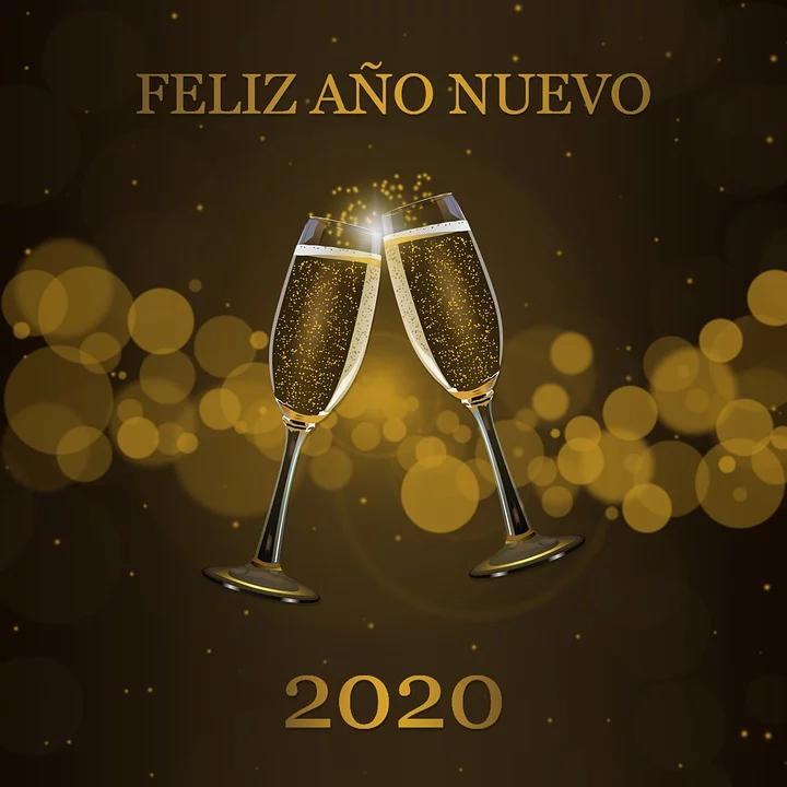 ¡Feliz año nuevo 2020!