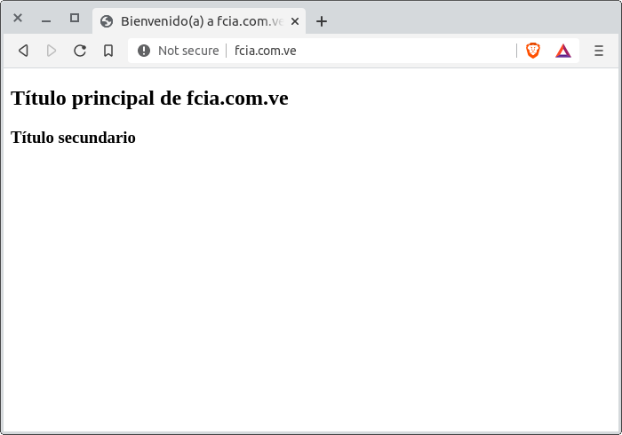 Bienvenido(a) a fcia.com.ve. - navegador Brave