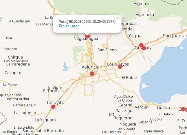 Consulta a Wikidata error en coordenadas del San Diego (capital del municipio San Diego Carabobo Venezuela)