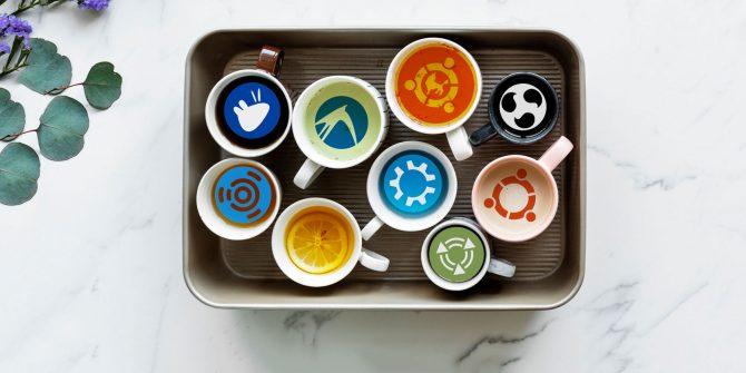 Sabores de Ubuntu ( imagen: https://wiki.ubuntu.com/UbuntuFlavors licencia: https://help.ubuntu.com/community/License )
