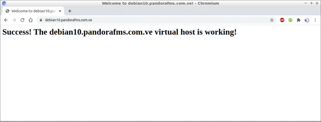 Welcome to debian10.pandorafms.com.ve (Debian 10)