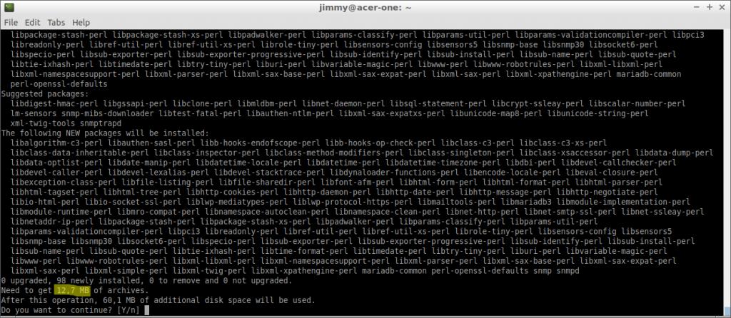 apt upgrade (Debian 10)