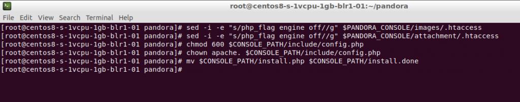 Configuración de Apache Web Server.