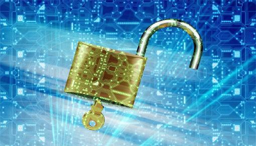 Seguridad, llave y candado. Crédito de imagen: JanBaby, via Pixabay CC0.